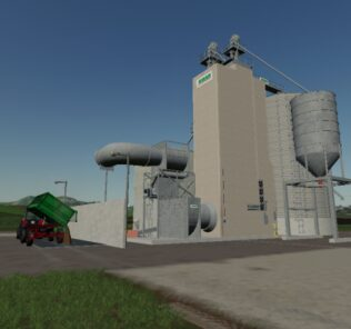 Riela Grain Silo V1.0 Mod for Farming Simulator 2019 (FS19)