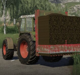 Strautmann Hydrofox Silo Block Cutter V1.0.0.1 Mod for Farming Simulator 2019 (FS19)