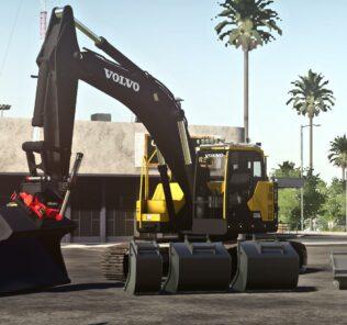 Volvo Ec235El V1.0 Mod for Farming Simulator 2019 (FS19)