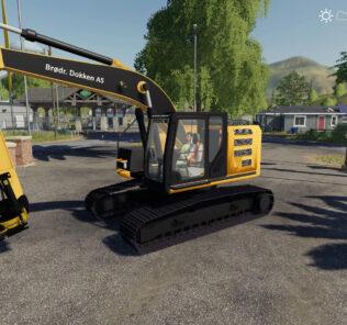 FS19 Cat 320El V1.0 Mod [Farming Simulator 19 Mods]