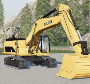 FS19 Caterpillar 385C Excavator Hydraulic Mod [Farming Simulator 19 Mods]