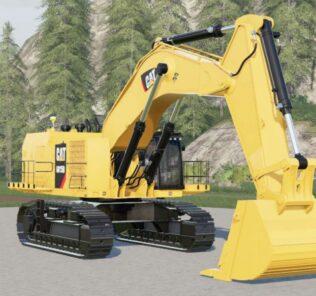 FS19 Caterpillar 6015B With Bucket Mod [Farming Simulator 19 Mods]