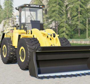 FS19 Caterpillar 990H Mod [Farming Simulator 19 Mods]