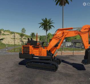 FS19 Hitachi 2600 Ex V1.0 Mod [Farming Simulator 19 Mods]