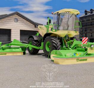 FS19 Krone Big M500 V1.0.0.1 Mod [Farming Simulator 19 Mods]
