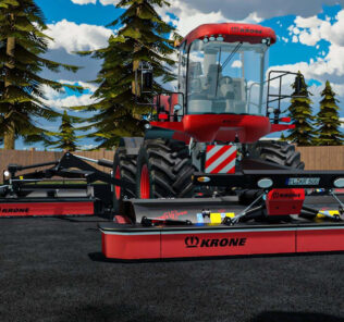 FS19 Krone Big M500 V1.0.0.2 Mod [Farming Simulator 19 Mods]