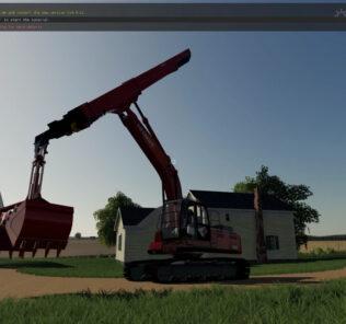 FS19 Hitachi 350Lc V1.0 Mod [Farming Simulator 19 Mods]