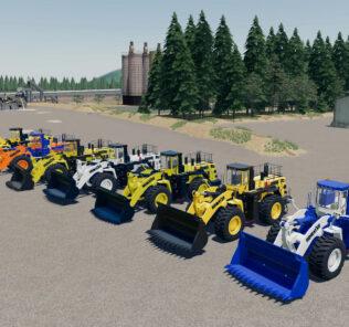 FS19 Komatsu Wa-900 Mining Loader V1.0 Mod [Farming Simulator 19 Mods]