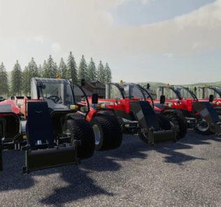 FS19 Massey Ferguson 9407 S V1.0 Mod [Farming Simulator 19 Mods]