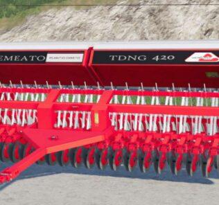 FS19 Semeato Tdng 420 Mod [Farming Simulator 19 Mods]