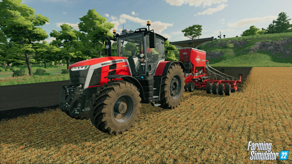 If you watch the video carefully, we can assume that the developers will add Fendt Katana 650 (chopper), Massey Ferguson 8S, new John Deere models (tractors) and other equipment to the game.