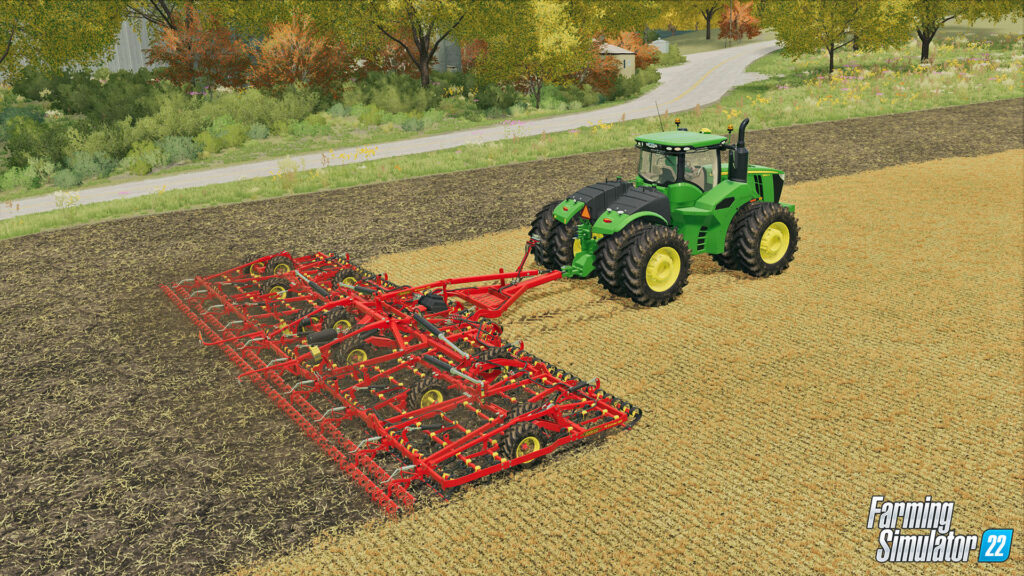 The release of Farming Simulator 22 will take place in the fall of 2021!